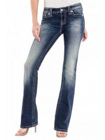Calça Jeans Importada Miss Me Feminina Dream Catcher Bootcut