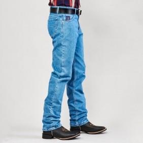 Calça Jeans Masculina Dock's Western White Combate Delave
