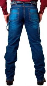 Calça Jeans Masculina Fast Back Carpinteira 100% Algodão