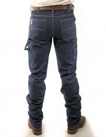 Calça Jeans Masculina King Farm Carpinteira Black