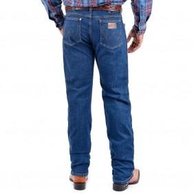 Calça Jeans Masculina Wrangler Escura Original Cowboy Cut