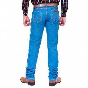 Calça Jeans Masculina Wrangler Pro Rodeo Cowboy Cut Stone