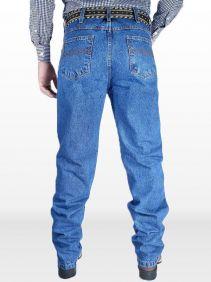 Calça Jeans Stone Fast Back Masculina 100% Algodão