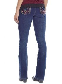 Calça Jeans Tassa Feminina Medium Boot Cut Wash
