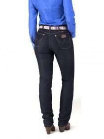 Calça Jeans Wrangler Feminina Cowgirl Cut Escura Low Rise