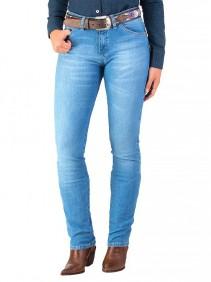 Calça Jeans Wrangler Feminina Light Degrade Cowgirl Cut
