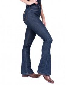 Calça Jeans Wrangler Flare Feminina com Elastano
