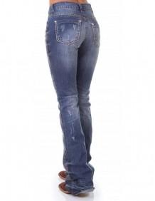 Calça Jeans Zenz Western Albuquerque Feminina com Strass