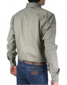 Camisa Masculina Austin Western Original Shirts Bege