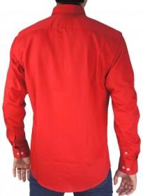 Camisa Masculina Austin Western Original Shirts Vermelha
