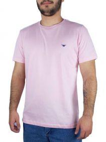Camiseta Casual Masculina Wild West Rosa