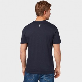 Camiseta Masculina Austin Western Preto SE Estampada