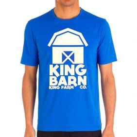 Camiseta Masculina King Farm Estampada Azul