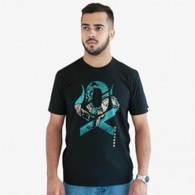 Camiseta Masculina Ox Horns Estampada Preto
