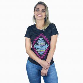 Camiseta Miss Country Feminina Tee Fashion Desenhos