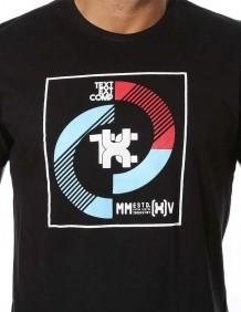 Camiseta TXC Brand Masculina Estampada Logo Emborrachada