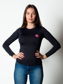 Camiseta TXC Feminina Manga Longa X-Sweat Preto