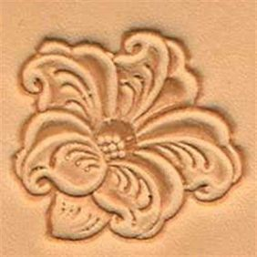 Carimbo de Gravar Flor 3D Tandy Leather 88494-00 Importado