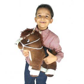 Cavalinho de Pelúcia Infantil