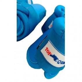 Conjunto de Caneleira e Cloche Top Equine Azul