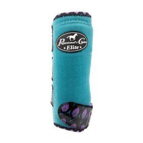 Conjunto de Caneleira Professional's Choice Elite Azul Estampado - Dianteiras/Traseiras (4 Peças)