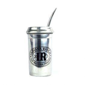 Copo para Tereré de Alumínio da Indiana Ranch com Bomba