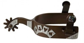Espora de Cavalo Partrade 239030 Level 3 Importado Poker Card