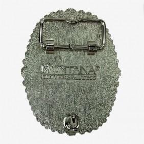 Fivela de Metal Importada Montaria em Touro A404-T