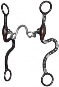 Freio para Cavalo Level 3 Partrade 250008 Ported Chain Bit