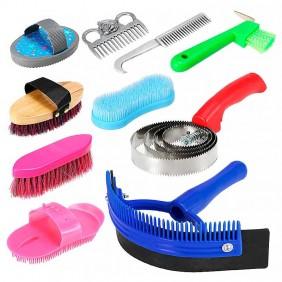 Kit Partrade de Higiene Limpeza para Cavalos 244157