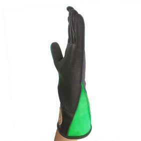 Luva de Montaria em Touro Mão Esquerda Couro Resistente