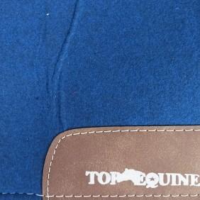 Manta Ortopédica Top Equine para Cavalo Azul