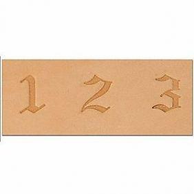 Numeral Entalhar Couro Tandy Leather 8142-10 Importado