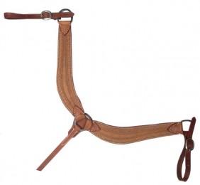 Peiteira para Cavalo Top Equine Couro Custura Alto Relevo