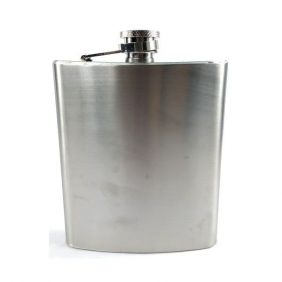 Pocket Drink Importado Western de Metal Liso Largo
