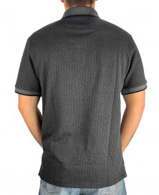 Polo Austin Western Original Shirts Masculina Cinza Preto
