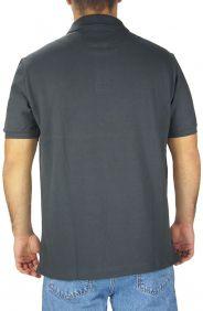 Polo Masculina Austin Western Original Shirts Cinza Escuro