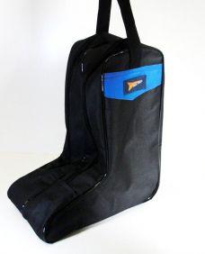 Porta Botas Country em Nylon Fast Back Azul
