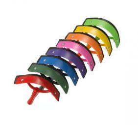 Rodo Partrade de Plástico Colorido Higienização do Cavalo