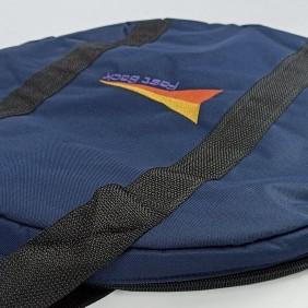 Sacola Fast Back para Corda e Laço Simples Azul Alça Preto