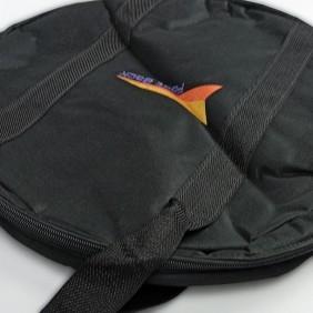 Sacola Fast Back para Corda e Laço Simples Preto Alça Preto