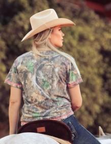 T-Shirt Feminina Zenz Western  Outdoor