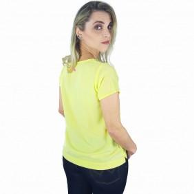 T Shirt Zenz Western Sunshine com Pedras de Strass