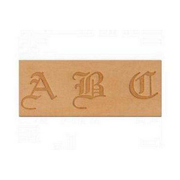 Alfabeto para Gravar Couro Letras Tandy Leather 8142-00