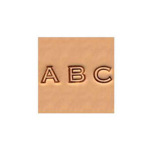 Alfabeto para Gravar Couro Tandy Leather 4909-00 Importado