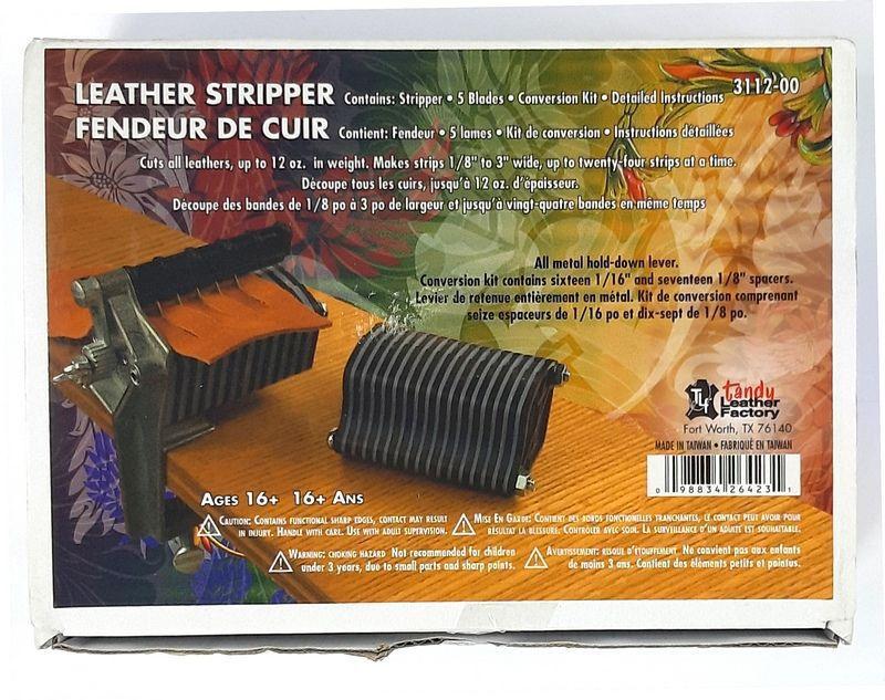 Aparelho para Cortar Couro de Mesa Tandy Leather 3112-00 Importado
