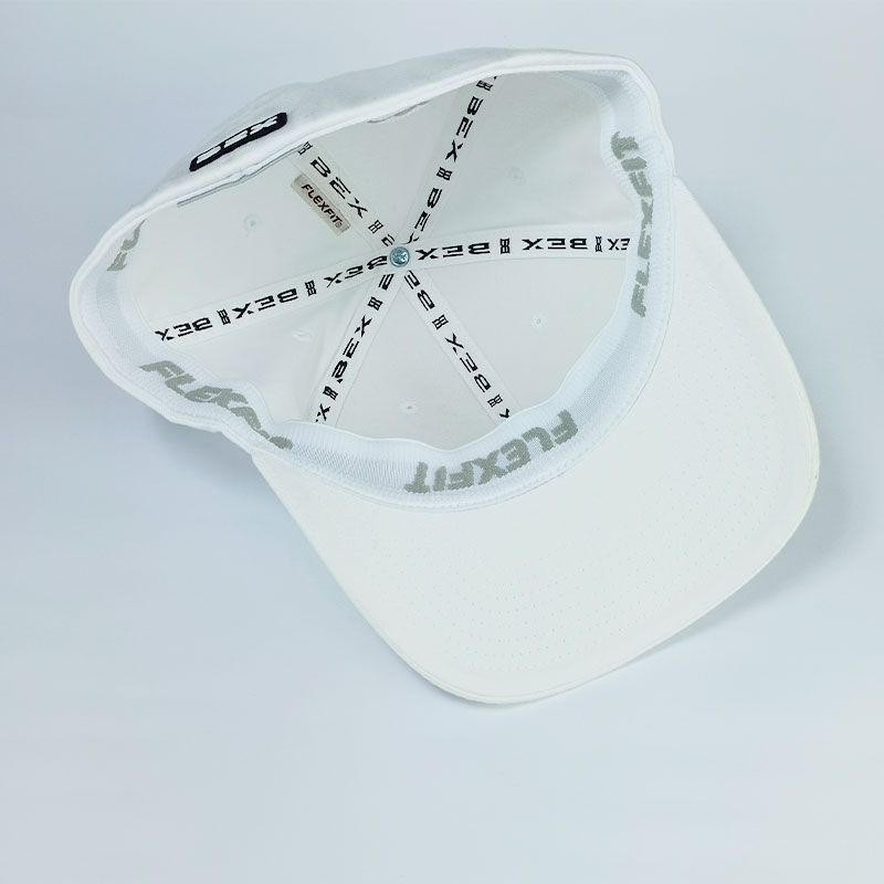 Boné BEX Masculino Tradicional Flex Fit Importado Branco