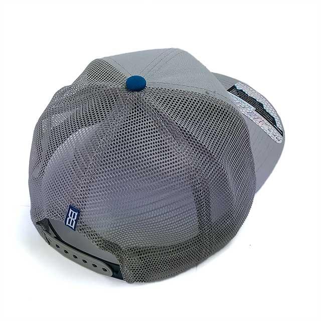 Boné BEX Snapback Masculino Air Fit Cinza Claro