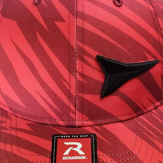 Boné Fast Back Importado Stile Velcro Ajustável Vermelho