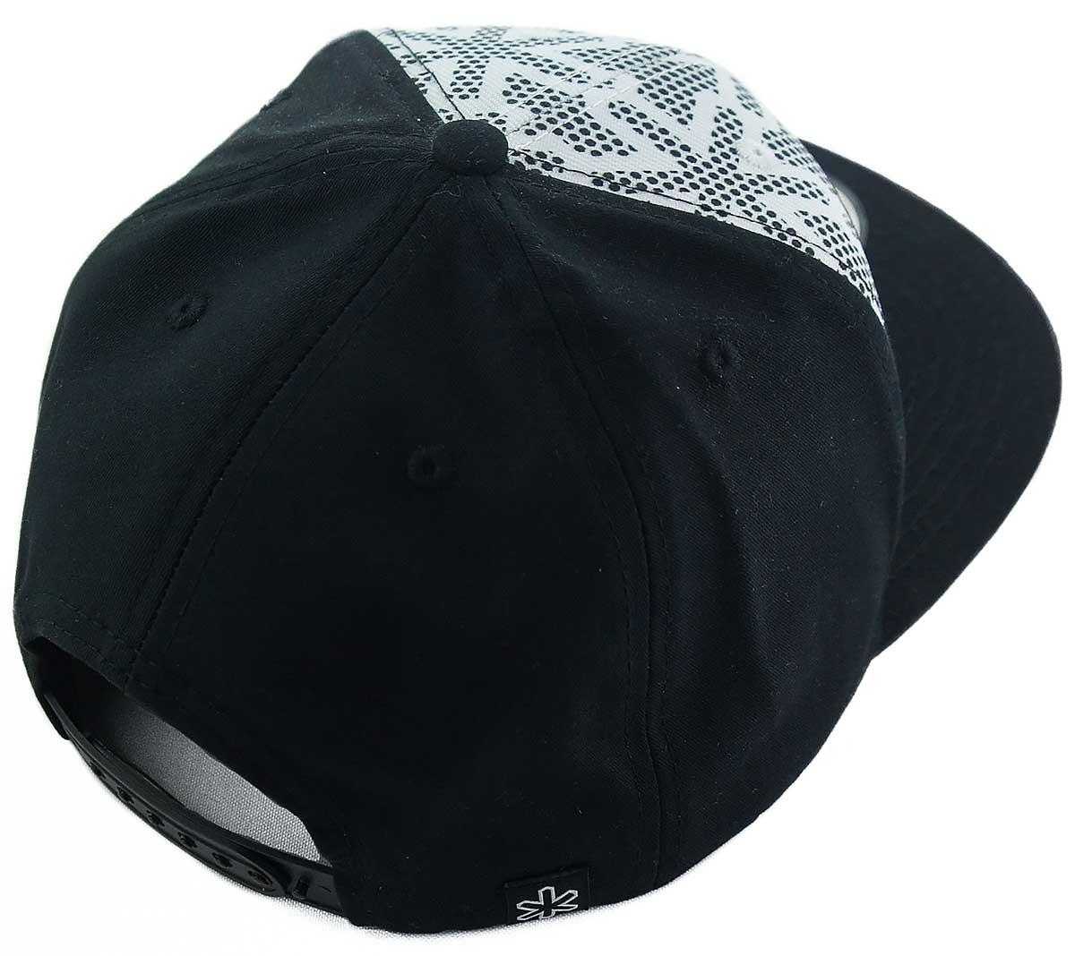 Boné Tuff Star Black Snapback - Branco/Preto